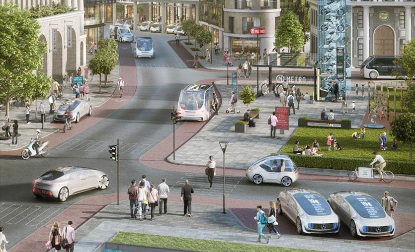 Bosch ve Daimler'den otonom sürüş için işbirliği