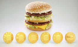 McDonald's Big Mac Coin'ler Türkiye'de