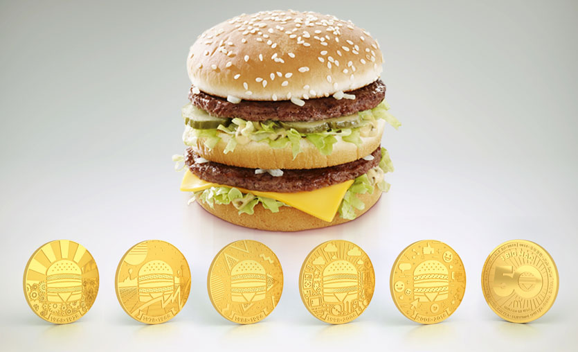McDonald's Big Mac Coin'ler Türkiye'de