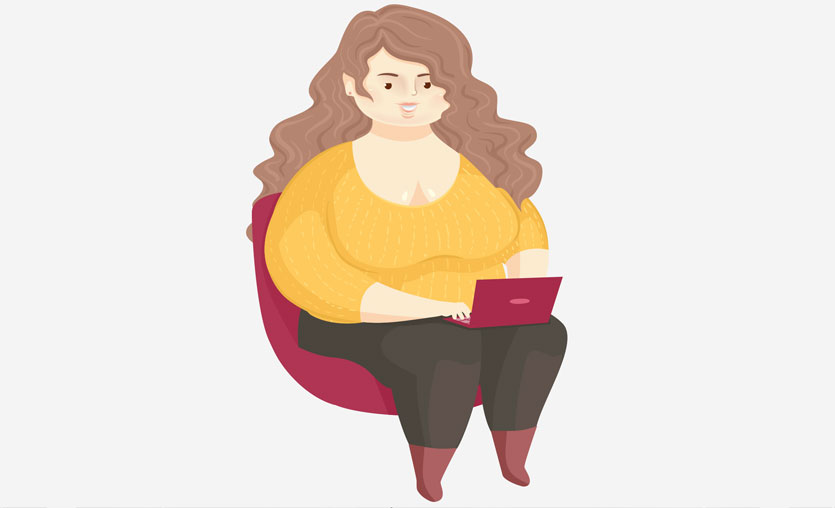 Yanlış beslenme ve internet bağımlılığı obez yapıyor
