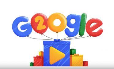 Google, 20. yaşını kutluyor [Video]