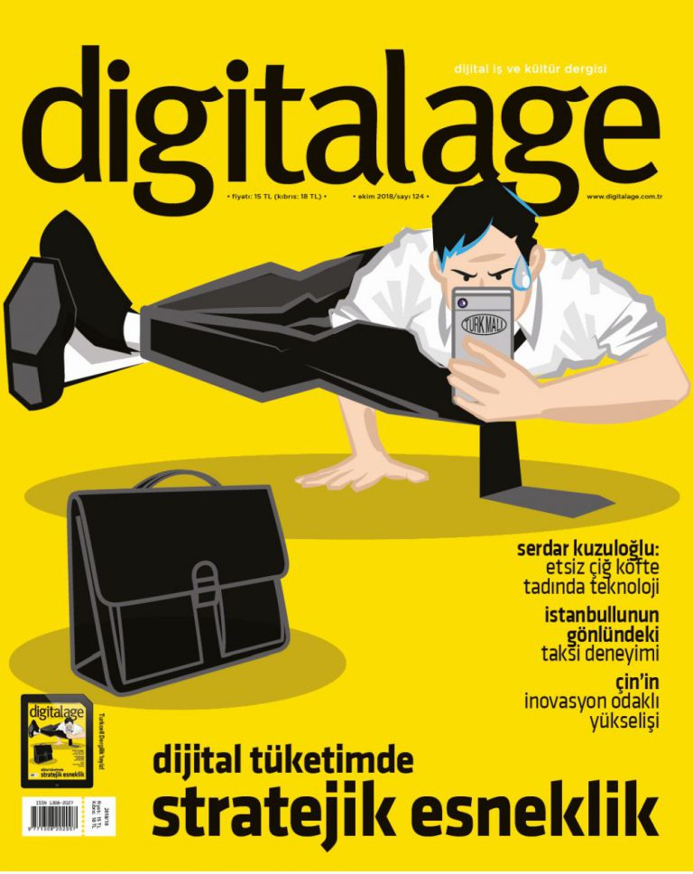 Digital Age Bu Ay Kapak Görseli