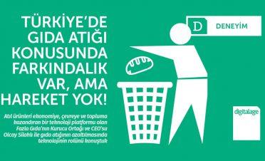 Türkiye'de gıda atığı konusunda farkındalık var, ama hareket yok!