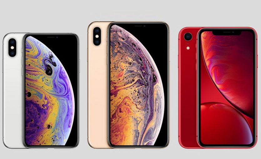 iPhone XS, iPhone XS Max ve iPhone XR
