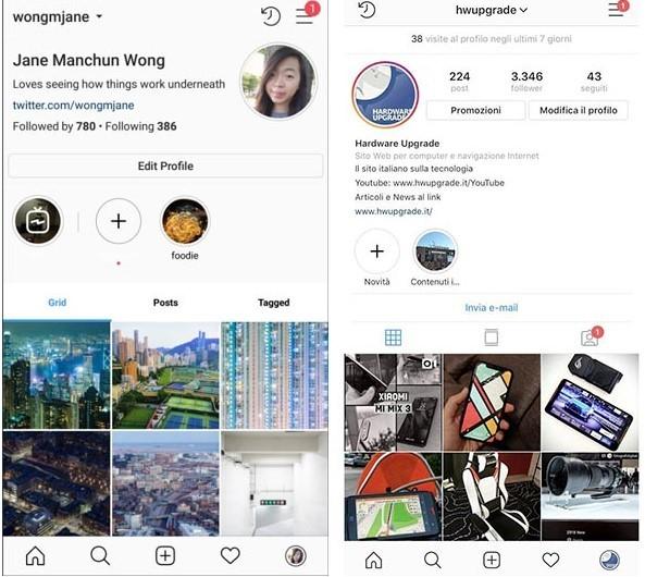 Instagram yeni profil tasarımını test ediyor!