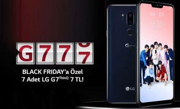 LG Türkiye'den 7 TL'ye amiral gemisi telefon