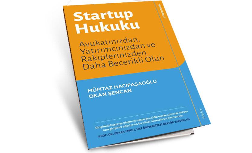 Startup Hukuku kitabı yayımlandı