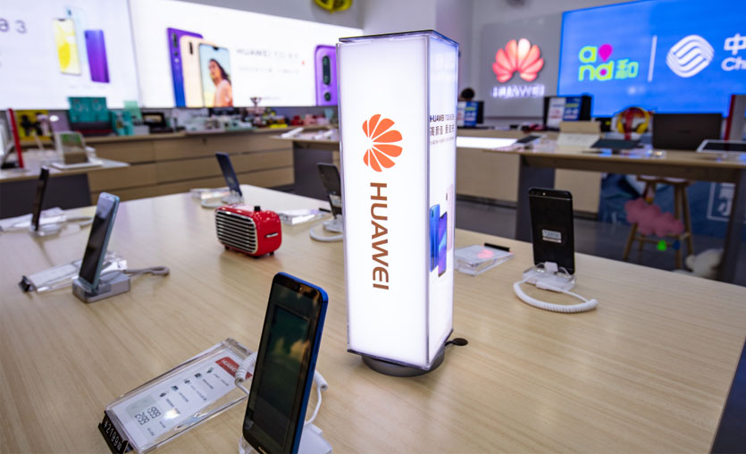 Huawei alana para yardımı