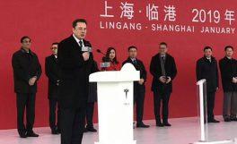 Tesla'ın Çin'deki dev fabrikasının temelleri atıldı