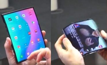 Xiaomi katlabilir telefonuyla görüntülendi