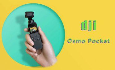 Vlogger ve YouTuber'lar için ideal bir cihaz: DJI Osmo Pocket