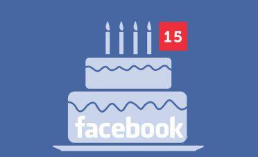 Facebook 15 yaşında!