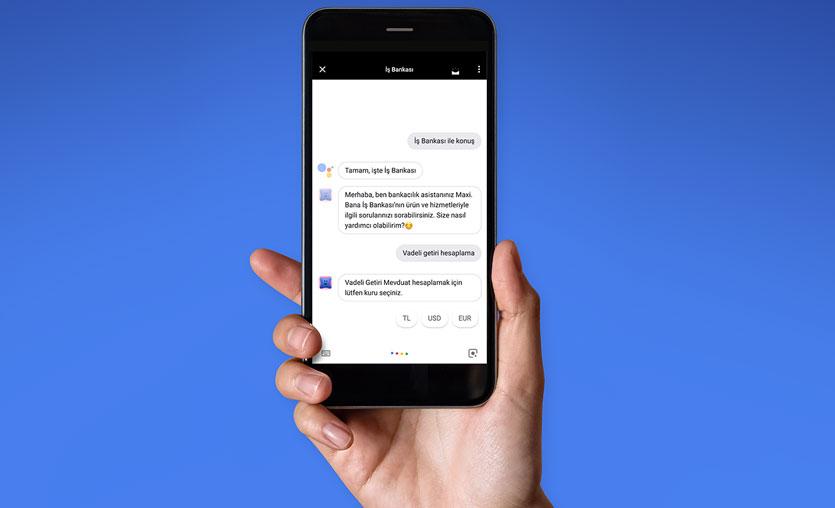 İş Bankası uygulaması Google Asistan'a entegre oldu