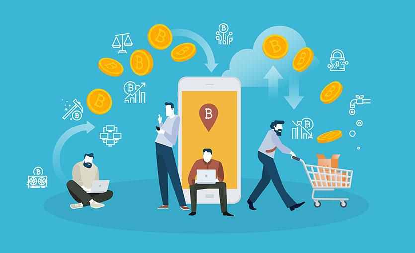 Her on kişiden biri kripto para ile alışveriş yapıyor