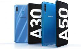 Samsung, Galaxy A50 ve Galaxy A30'u tanıttı
