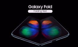 Samsung'un katlanabilir telefonu Galaxy Fold'un test videosu yayınlandı