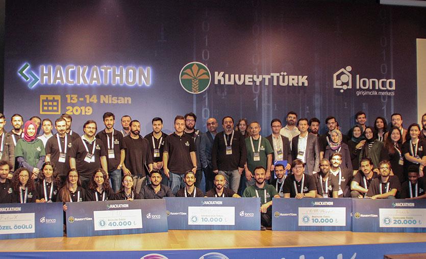 Kuveyt Türk Hackathon'un birincisi belli oldu