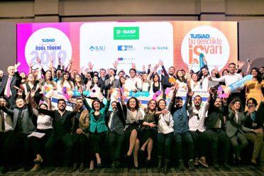 """""""TÜSİAD Bu Gençlikte İş Var"""" yarışmasında ödüller sahiplerini buldu"""