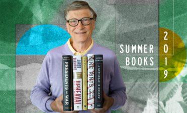 Bill Gates'ten yaz tatili için 5 kitap önerisi