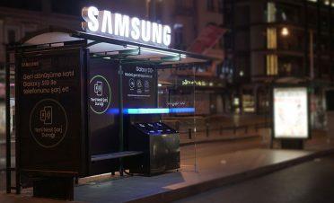 Samsung Türkiye'den yeni nesil şarj durağı