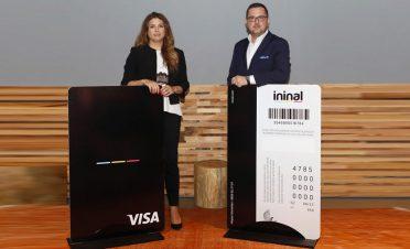 Ödeme platformu ininal, Visa ile işbirliğine gitti