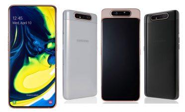 Dönebilir üçlü kameralı Samsung Galaxy A80'in Türkiye fiyatı belli oldu
