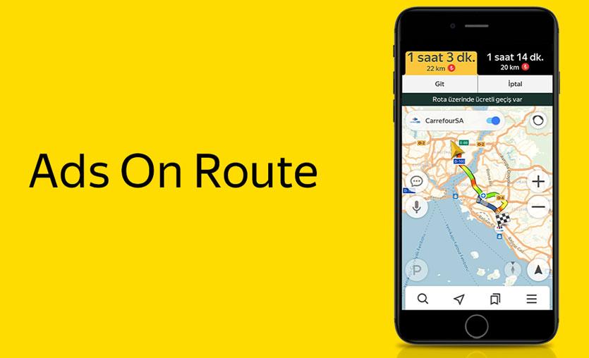 Yandex Navigasyon ve CarrefourSA'dan yeni iletişim modeli