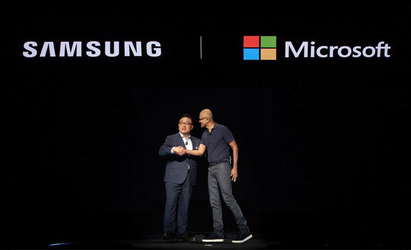 Samsung ve Microsoft'tan cihazlar, uygulamalar ve servislerde yenilikler