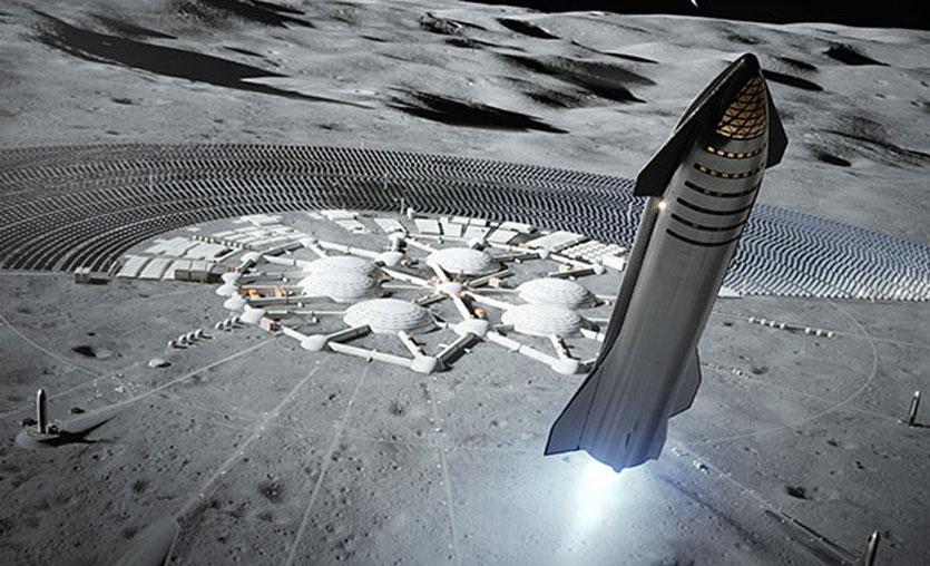 Elon Musk uzay aracı Starship'i tanıttı