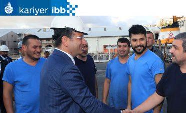 Ekrem İmamoğlu belediyenin yeni kariyer sitesini duyurdu