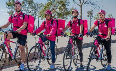 Yemeksepeti'inden çevre dostu bisikletli kurye hizmeti