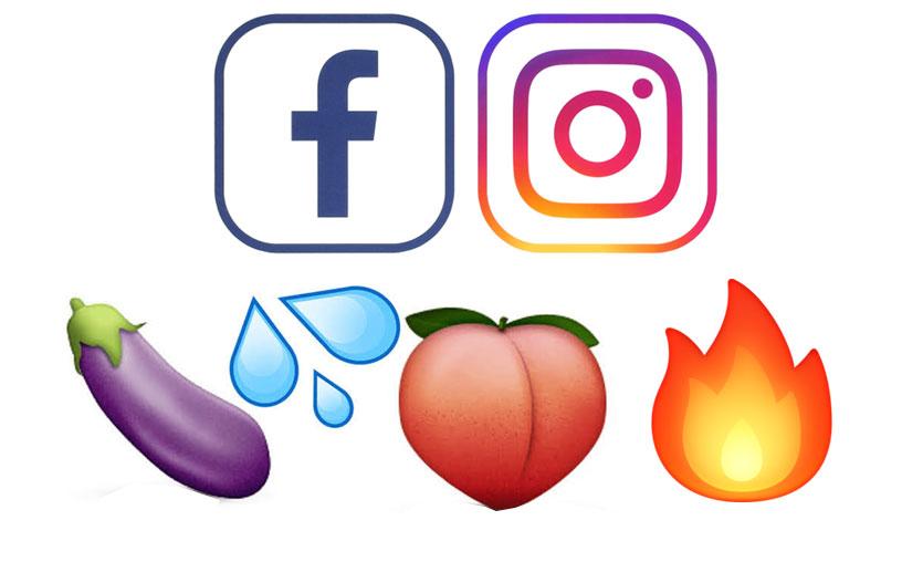 Facebook ve Instagram bazı emoji'leri yasaklıyor