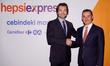 Hepsiburada ve CarrefourSA'dan online alışverişte işbirliği