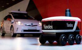 Yandex'in teslimat robotu Yandex.Rover test sürüşlerine başladı