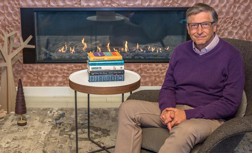 2020 için Bill Gates'ten 5 kitap önerisi
