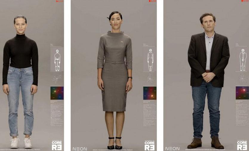 Samsung, insansı robotları CES 2020'de tanıttı