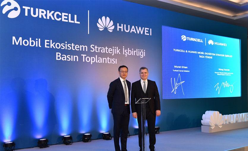 Hedef 1 Milyon adet Huawei Mobil Servis destekli telefon satmak