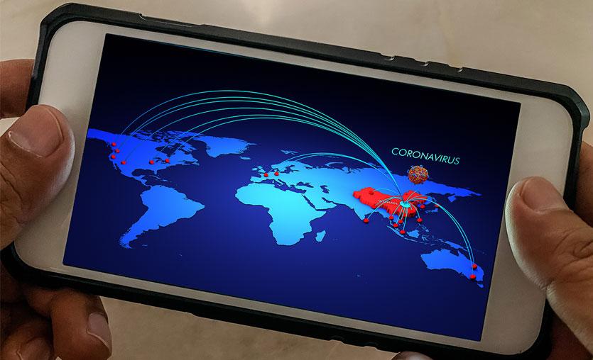 Coronavirüs salgınında son durum haritası [Güncel]