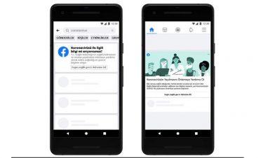 Facebook Covid-19 Bilgi Merkezi'ni Türkçe olarak hayata geçirdi
