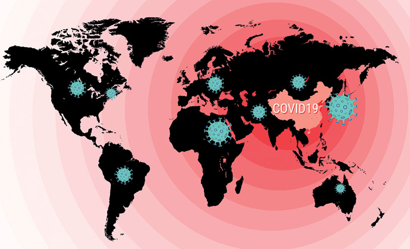 Koronavirüs (Coronavirus) canlı harita