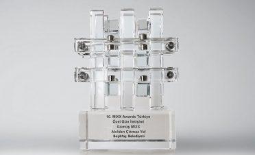 Beşiktaş Belediyesi'ne MIXX Ödülü