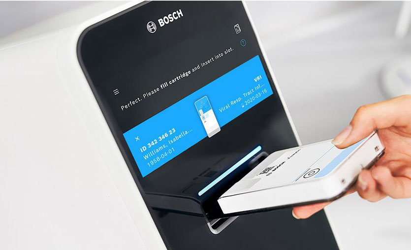 Bosch hızlı COVID-19 testi geliştirdi