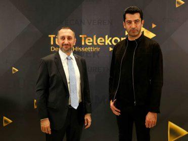 Türk Telekom'un yeni reklam yüzü Kenan İmirzalıoğlu