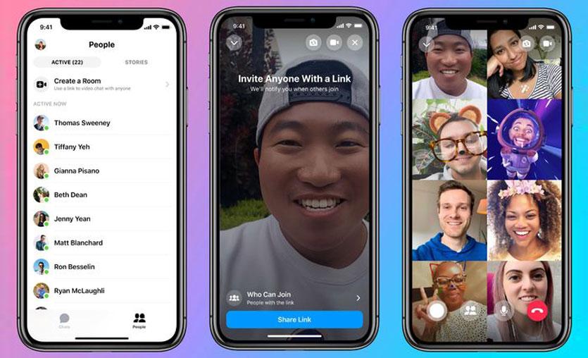 Facebook'tan yeni grup görüntülü sohbet özelliği: Messenger Rooms