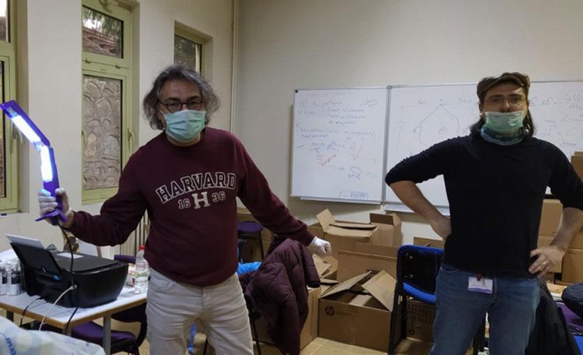 Coronavirus'ü 15 saniyede öldüren cihazlar geliştirildi