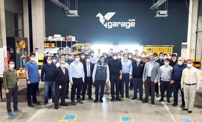 Arçelik yerli mekanik ventilatörlerin seri üretimine başlıyor