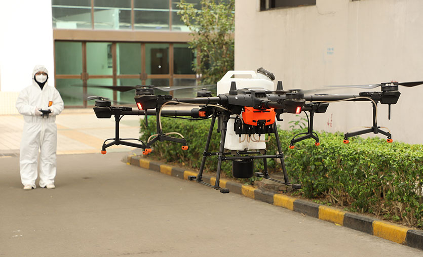 Dronlarla Covid-19 mücadelesine nasıl katkı sağlıyor?