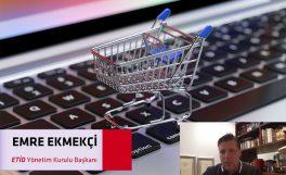 """""""Eticaret ekosistemimiz online market işinin ne kadar ciddi bir iş olduğunu gördü"""""""