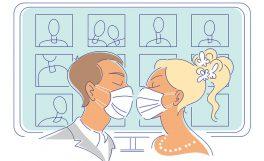 Evliliklerde dijital dönüşüm: Zoom ile evlenmeye onay çıktı