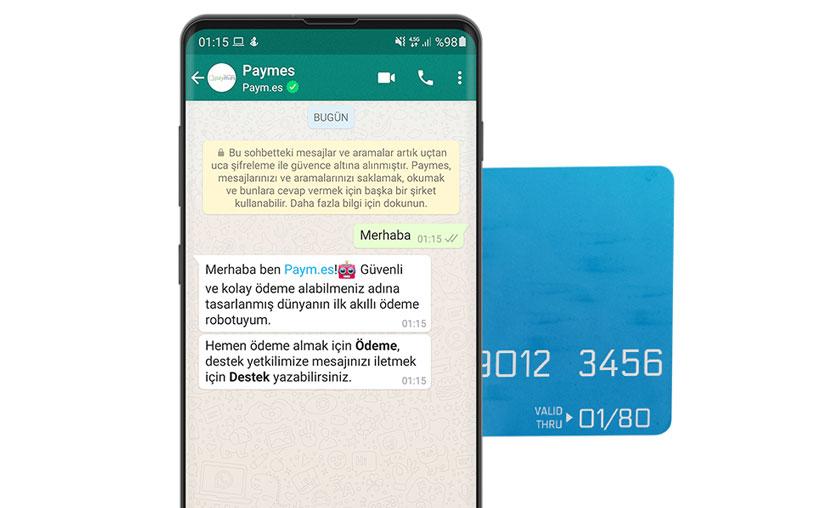 Paymes, akıllı ödeme botunu WhatsApp'a entegre etti